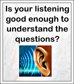 Is your listening good enough to understand